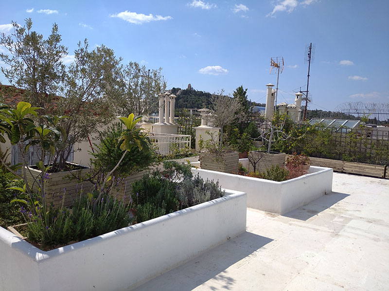 Ταράτσα στο κέντρο της Αθήνας